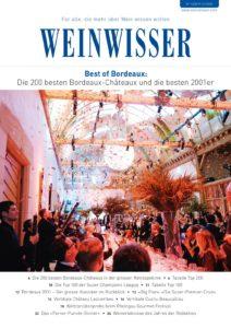 Die ausführliche Bericht zur Weltraritätenprobe ist in WW 01/20 erschienen
