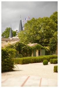 Das Château ist wie ein kleines Dorf aufgebaut